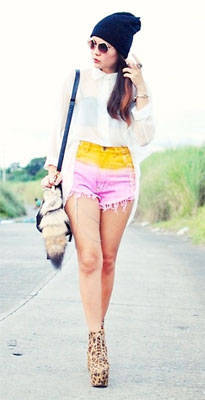 Kookie Buhain's Ombre Shorts