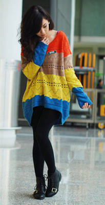 Kryz' Uy's Sweater + Leggings Combo