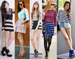 Style Equation: Stripes + Stripes
