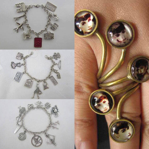Charm Bracelets and Brass Accessories