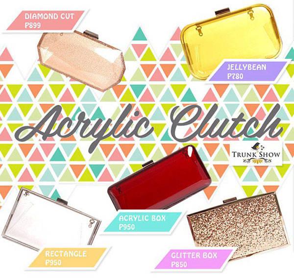 Acrylic Clutches