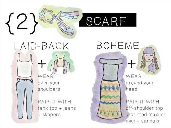 Wardrobe Staple: Scarf