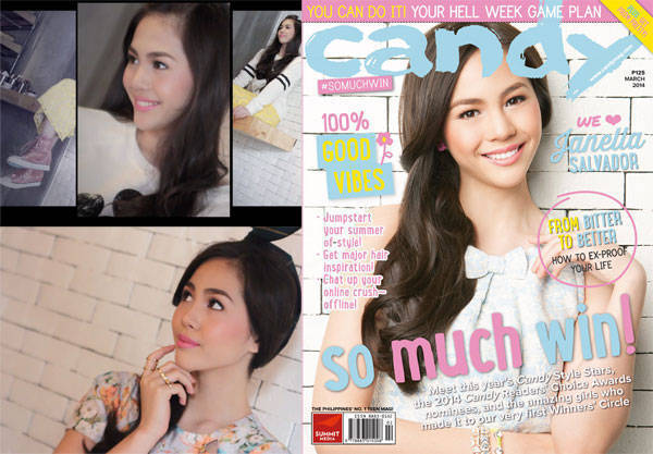 Janella Salvador on Candy