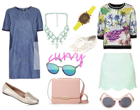 Summer Shopping: 3 Looks That Are Perfect For Curvy Girls