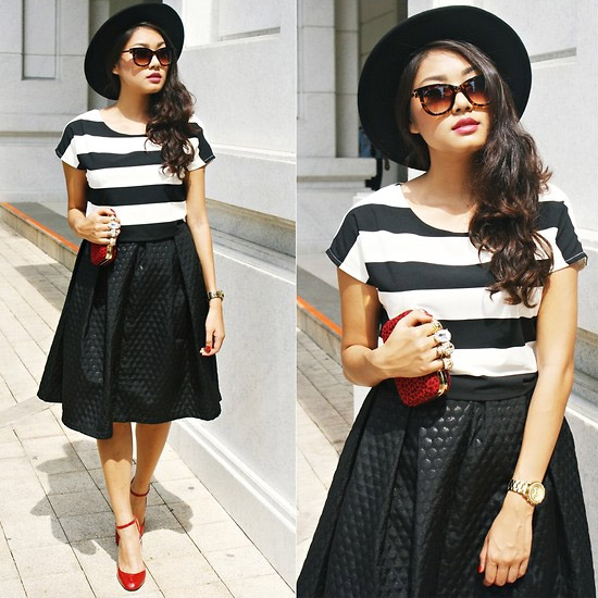 Style Equation: Red + Stripes