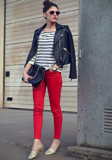 Style Equation Red + Stripes