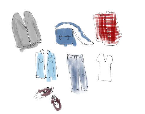 Ask Candy: What's Your Favorite Borrowed-From-The-Boys Item In Your Closet?