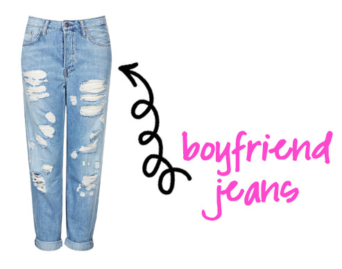 Borrowed From The Boys: 3 Ways To Style Boyfriend Jeans