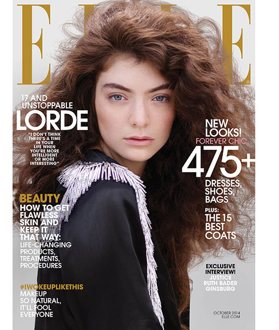 Lorde on Elle