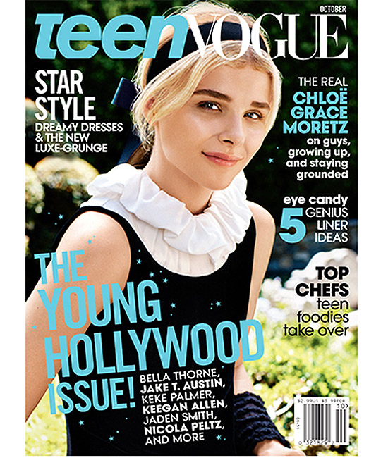 Chloe Moretz on Teen Vogue