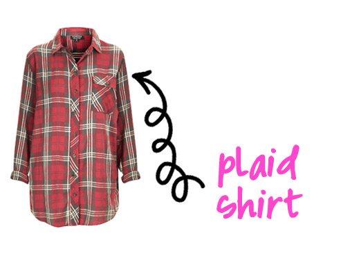 Borrowed From The Boys: 3 Ways To Style A Plaid Shirt
