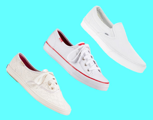 12 Cool And Timeless White Sneakers To Wear Now