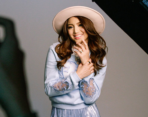 Nadine Lustre's Cover Shoot: Behind The Scenes