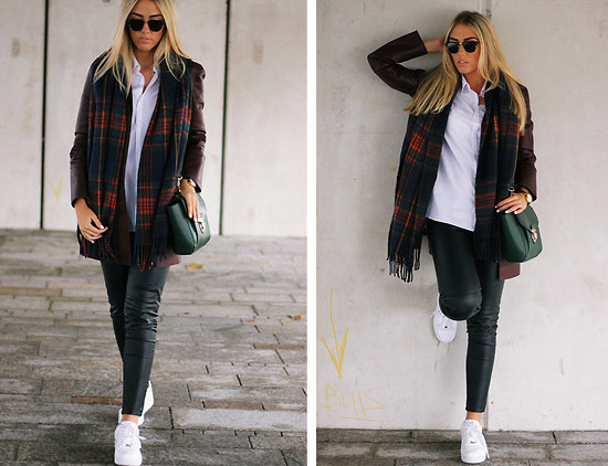 Style Equation: Red + Green