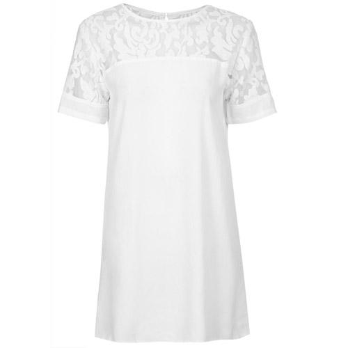 white dressW