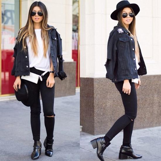 Style Equation: Black + White