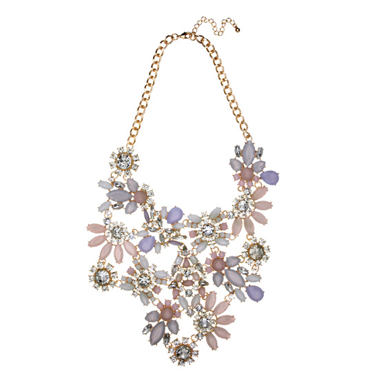 Necklace, River Island.