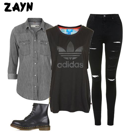 dress like zayn