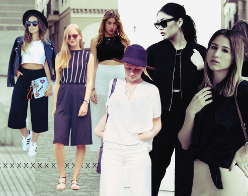Style Equation: Crop Top + Culottes