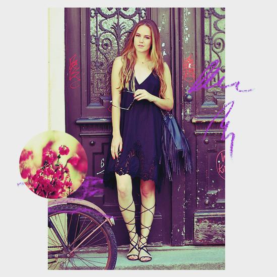 Dress + Gladiator Sandals 4