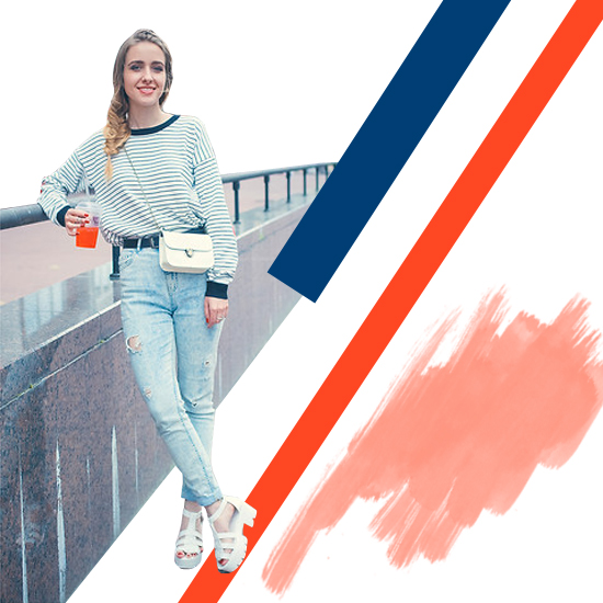 Style Equation: Sweater + Jeans outfit 4