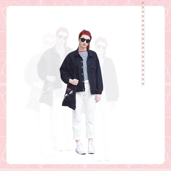 Denim Jacket + Denim Pants OUTFIT4