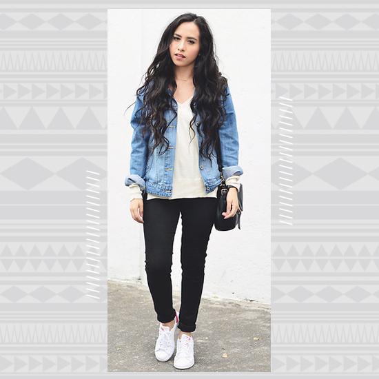 Denim + White Sneakers look 5