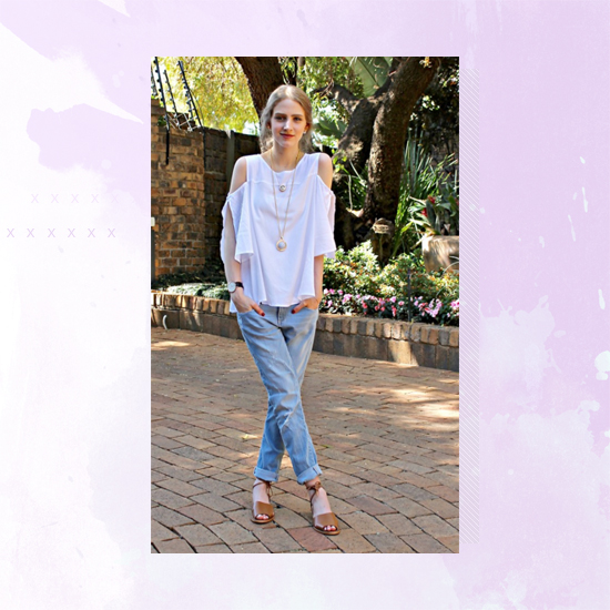 Style Equation: Denim + White outfit 4