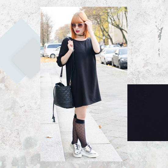 Style Equation: Black + Metallics Look 3
