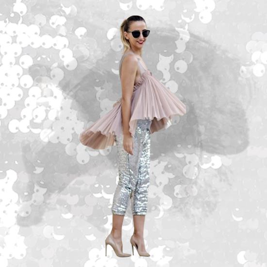 Style Equation: Sequins + Heels Look 1