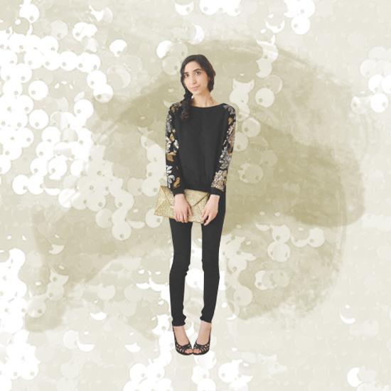 Style Equation: Sequins + Heels Look 2