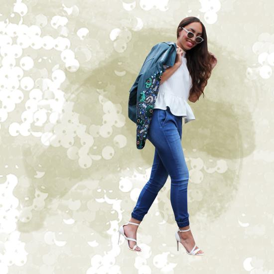 Style Equation: Sequins + Heels Look 4