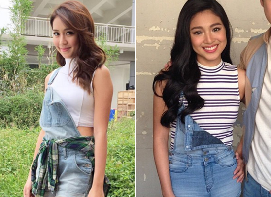 Kathryn Bernardo and Nadine Lustre look 2