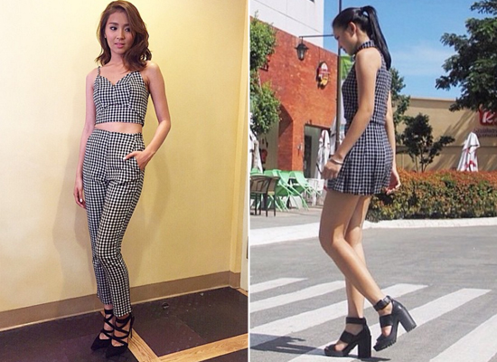 Kathryn Bernardo and Nadine Lustre look 4