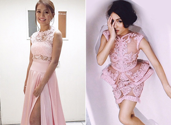 Kathryn Bernardo and Nadine Lustre look 7