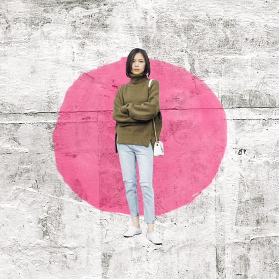 Style Equation: Turtleneck + Denim Look 6