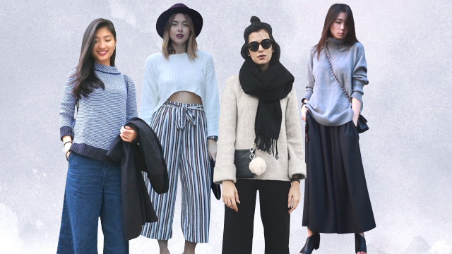 Style Equation: Sweater + Culottes
