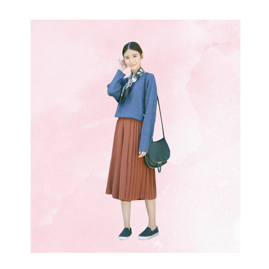 Style Equation: Sweater + Culottes Look 2