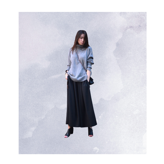 Style Equation: Sweater + Culottes Look 5