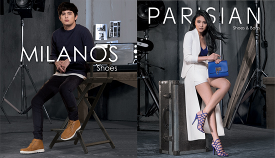 James Reid for Milanos and Nadine Lustre for SM Parisian