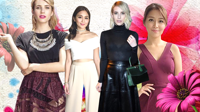 10 Ways You Can Look Taller Than You Are Like Kathryn Bernardo and Emma Roberts