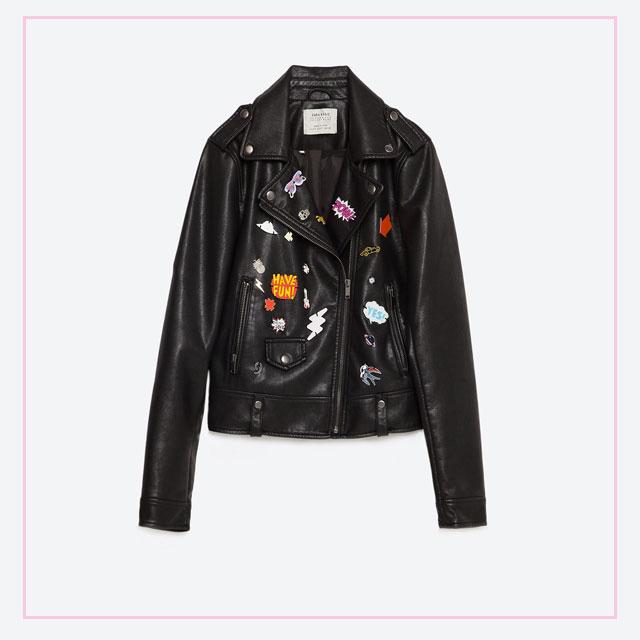 (Faux) Leather Jacket
