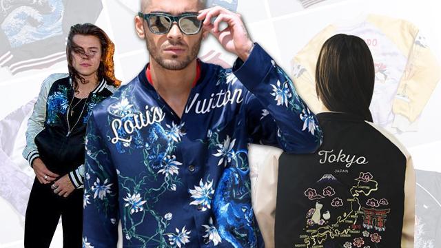 Trend Alert: The Sukajan or Souvenir Jacket
