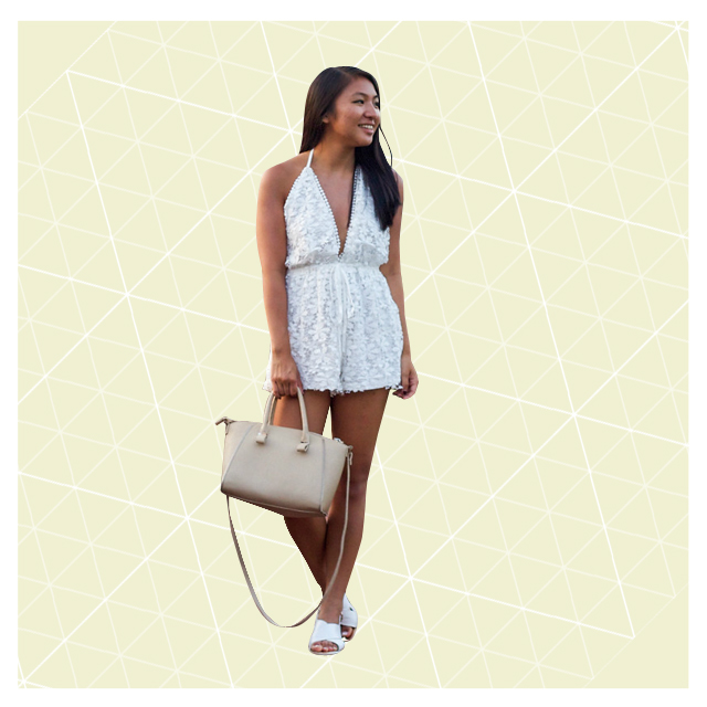 Style Equation: Romper + Flats