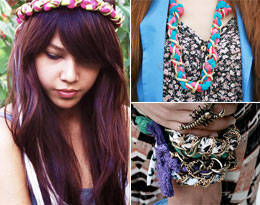 Trend Alert: Braids and Chains Accessories