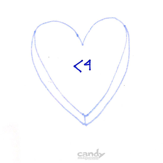 Candymag.com Conversation Hearts