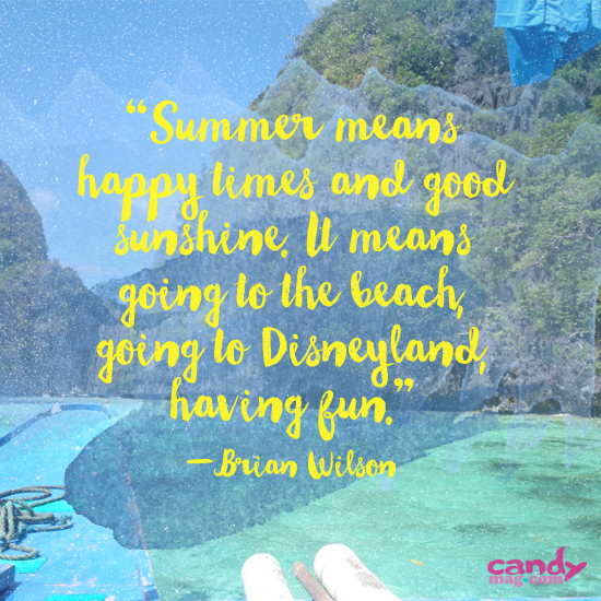 Ask Candy: Summer Quotes