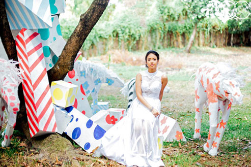 This Debutante Painted the Town Red (and Many Other Colors) with Her Pre-debut Shoot!