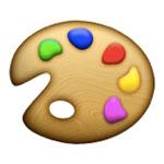 Easel emoji