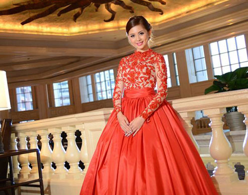 This Debutante Made Sure Her Debut Fit Her Personality: Vibrant and Fab